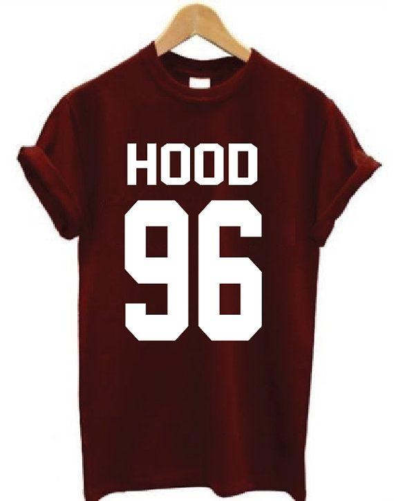 Hood 96 Shirt Calum Hood Shirt 5sos shirt by JadeTees on Etsy<<Somebody buy me this for my birthday lol