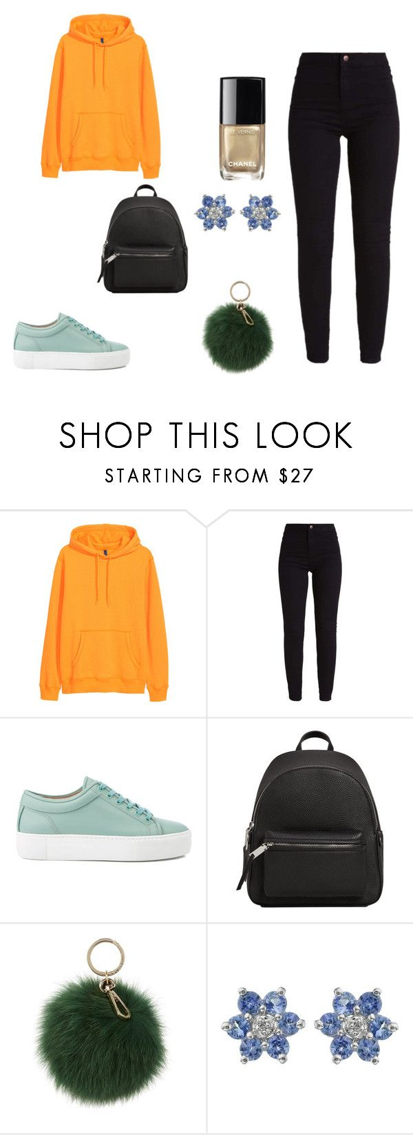 """""""moda4"""" by denisa13alexandra on Polyvore featuring beauty, H&M, MANGO and Coccinelle"""