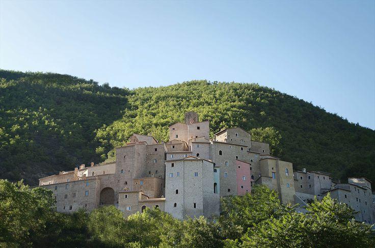 Blick auf den Borgo