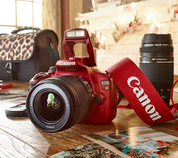 Canon Rebel T5 18MP DSLR Camera w/18-55 & 75-300mm USM Lenses & Accs. — QVC.com
