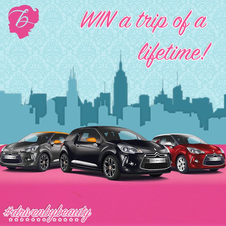 Best friend? Check. Summer sunshine? Check. Cute car? Triple check! Take part in our competition to win the trip of a lifetime #drivenbybeauty
