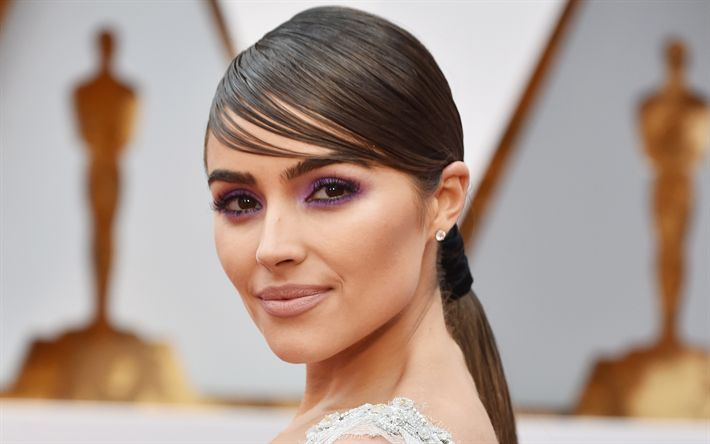 Download wallpapers Olivia Culpo, American actress, portrait, make-up, Miss USA 2012, Miss Universe 2012, beautiful woman