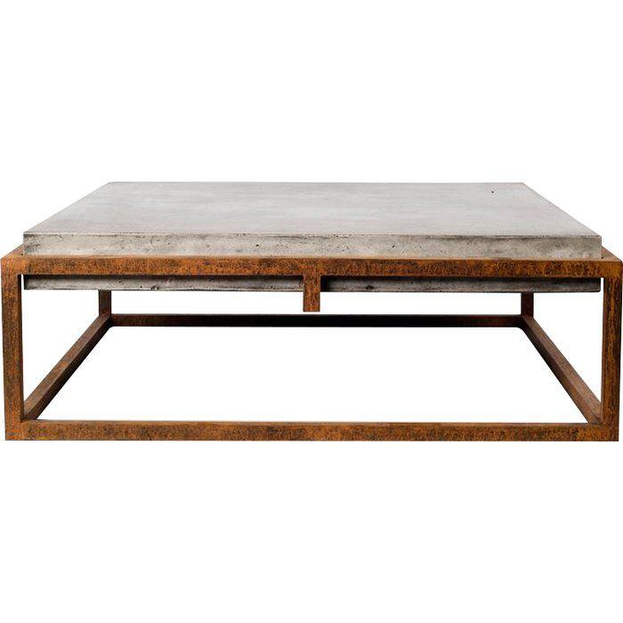 Tabetha Solid Coffee Table Coffee Table Square Coffee Table