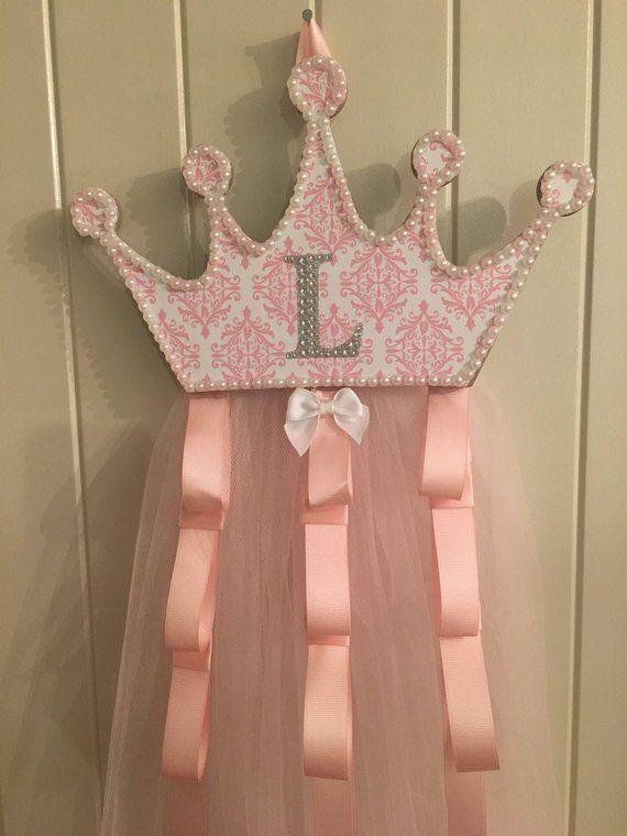 NEW GIRLS//KIDS HandCrafted Princess TuTu Bow Holder;Barrette//Headband Holder