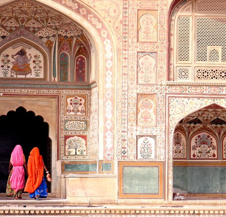 A Colourful Odyssey through #India