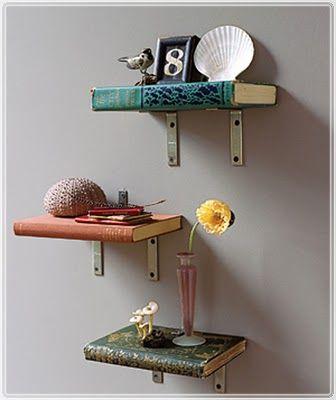 Real Book Shelves.