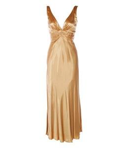 @Overstock.com - Morgan & Company Gold Formal Dress, $58.99