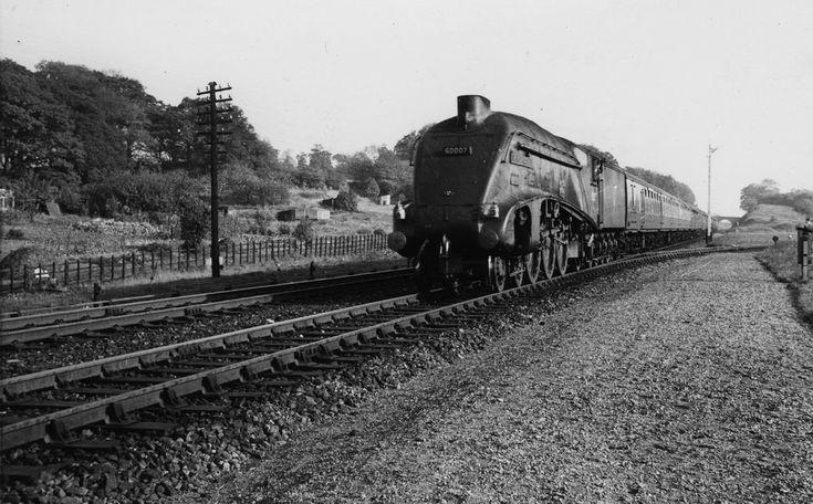 A4 60007 Sir Nigel Gresley near Gainsborough. Lea Rd. GNR …   Flickr