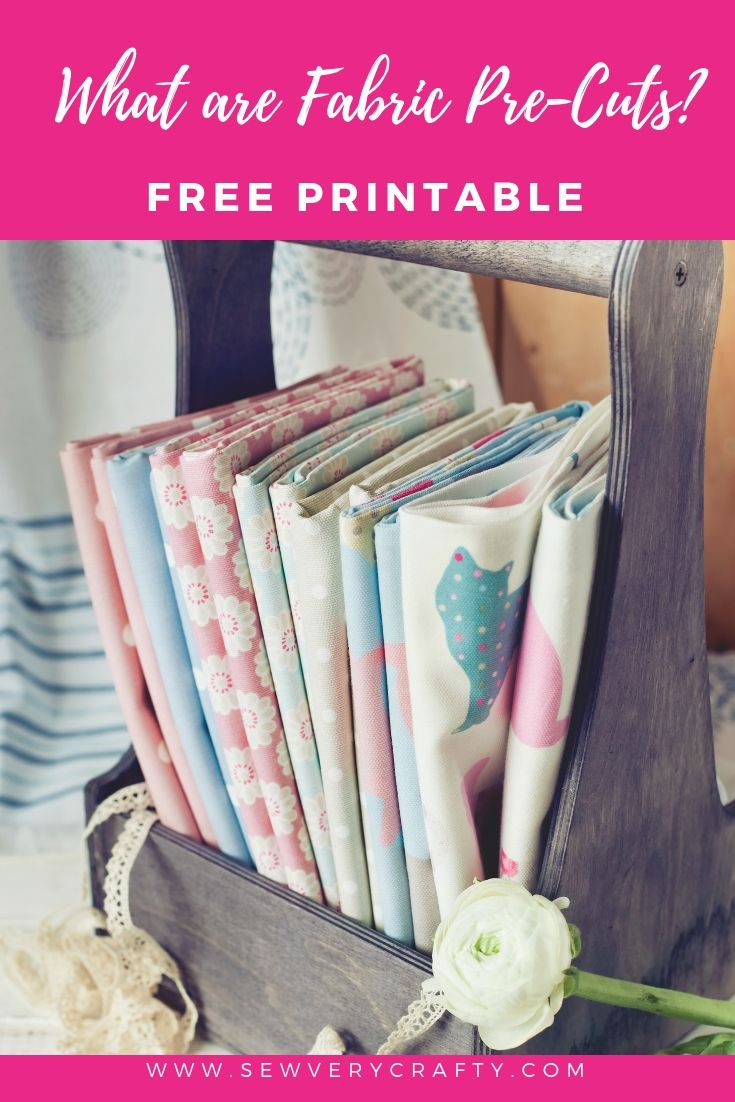 What are Pre-Cut Fabrics? | Sew Very Crafty | Fabric, Sewing
