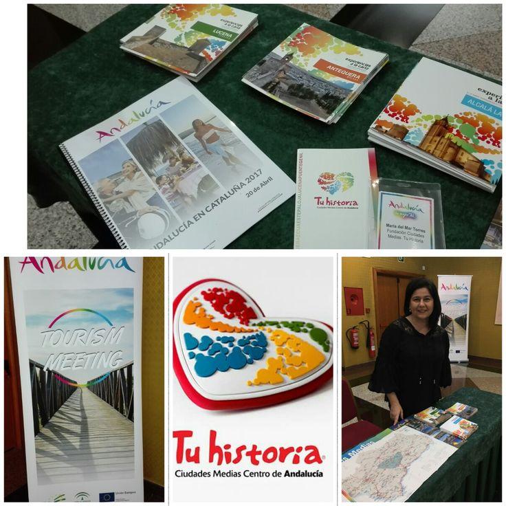 Empieza el #TourismMeeting en el marco de #AndalucíaenCataluña2017. @tu_historia está presente con su oferta global. Os esperamos!