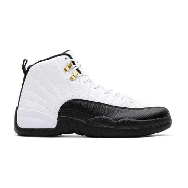 """Air Jordan XII """"Taxi"""" Release This Saturday ❤ liked on Polyvore featuring shoes, jordans and sneakers"""