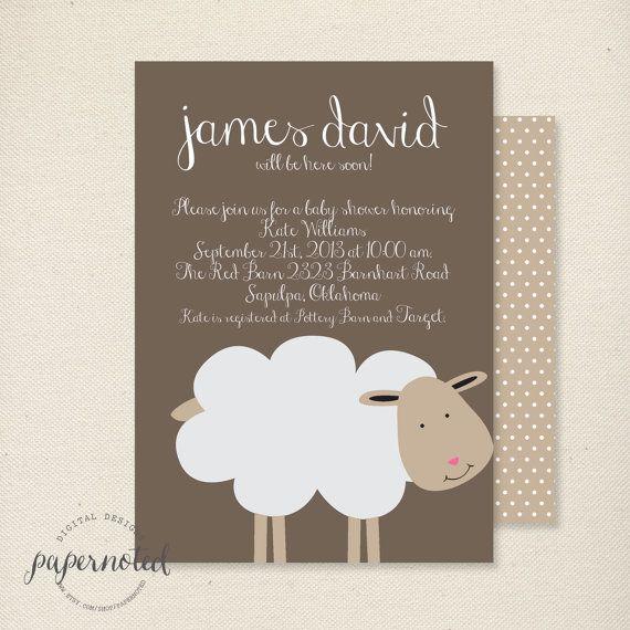 309eb1f91eaf558a56281d65498dc378 babyshower invites invitations baby showers 22 best baby kelly shower invitations images on pinterest,Lamb Themed Baby Shower Invitations