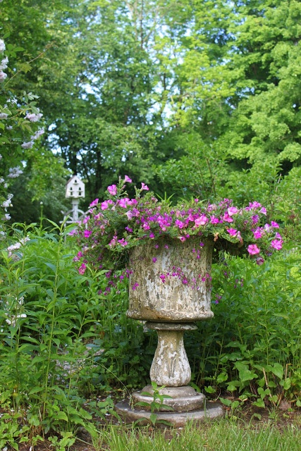 Garden focal point