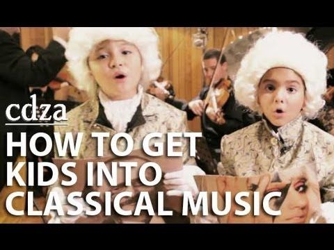 How to Get Kids Into Classical Music - this is one of the best ideas ever!!! Kids take their favourite pop lyrics and fit them to a piece of famous classical music. genius!