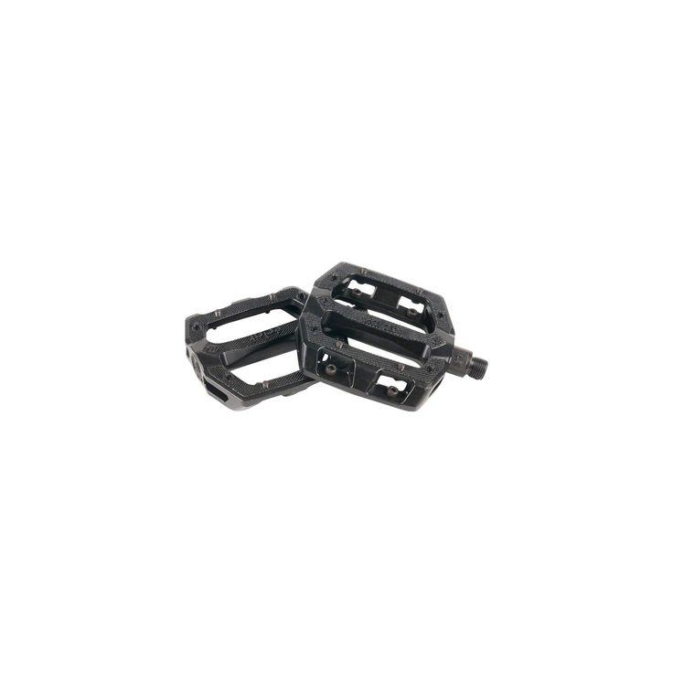 Eclat Slash Alloy Pedals 9//16 Black