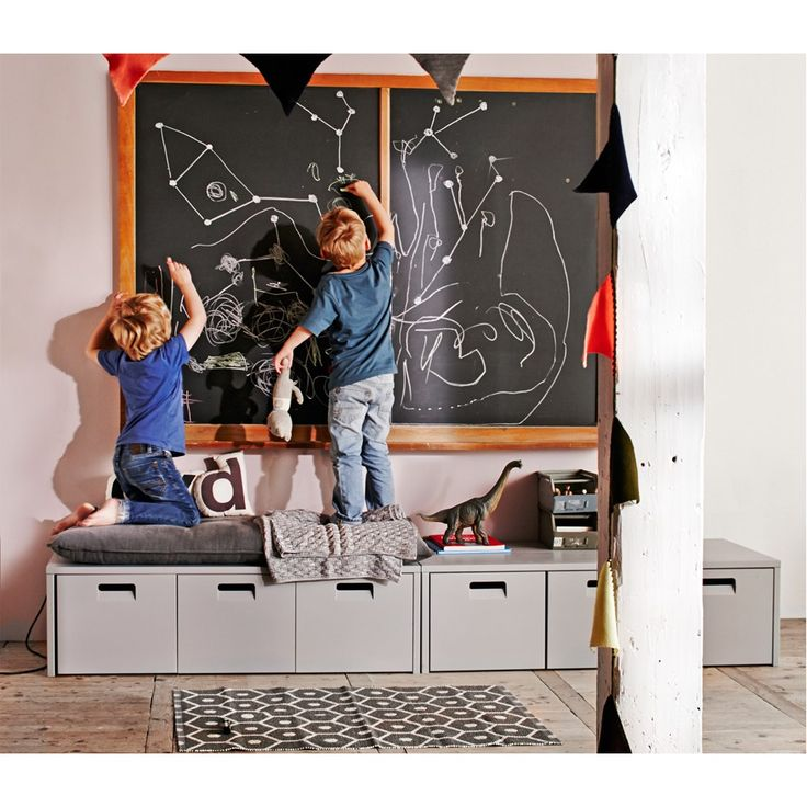 vtwonen Junior Store Kussen tbv Store Opbergbank 50 x 120 cm - Grijs