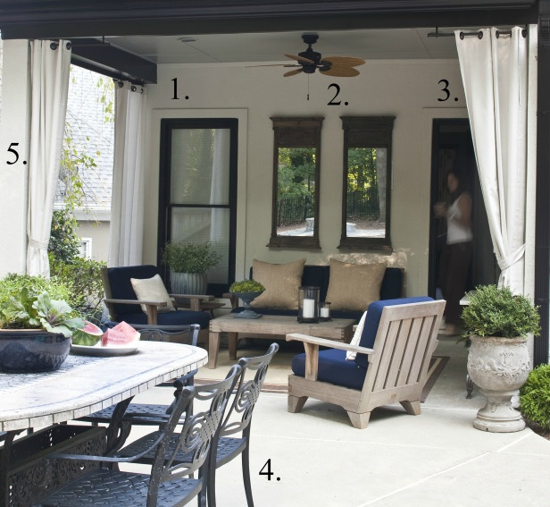Hgtv Outdoor Spaces: HGTV Gardens Article 'Great Escapes: All Weather Materials
