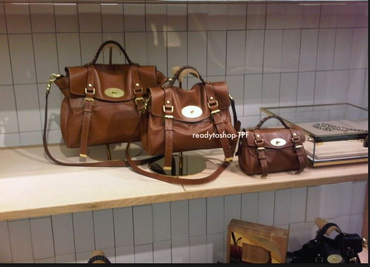 Mulberry Alexa in the various sizes, mini, regular and oversized