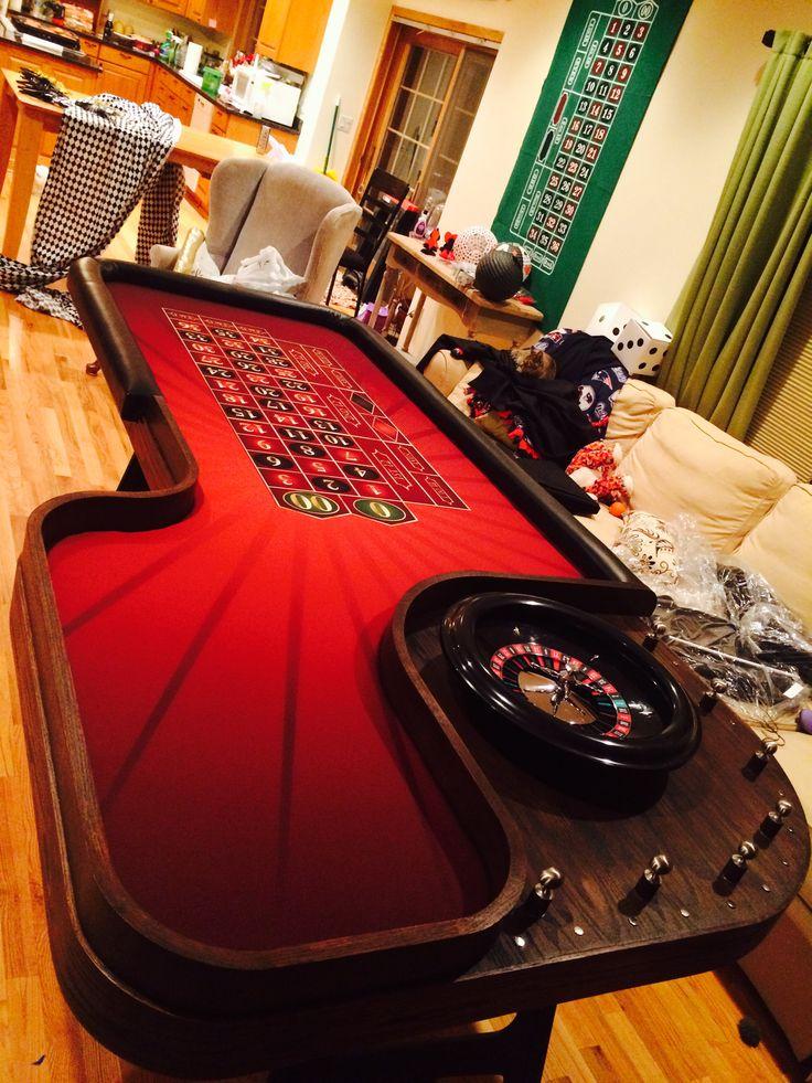 Custom roulette table