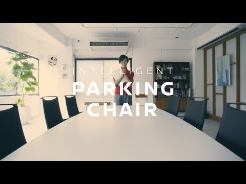 INTELLIGENT PARKING CHAIR | Inspired by NISSAN #技術の日産 - YouTube
