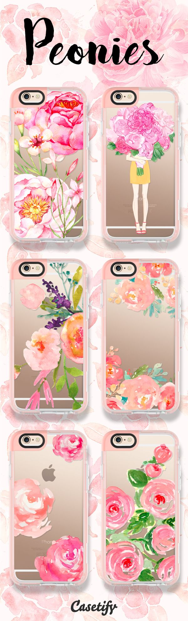 For all the peonies lovers! Tap this link to shop the cases: https://www.casetify.com/artworks/yxwQhqcbI7     @casetify