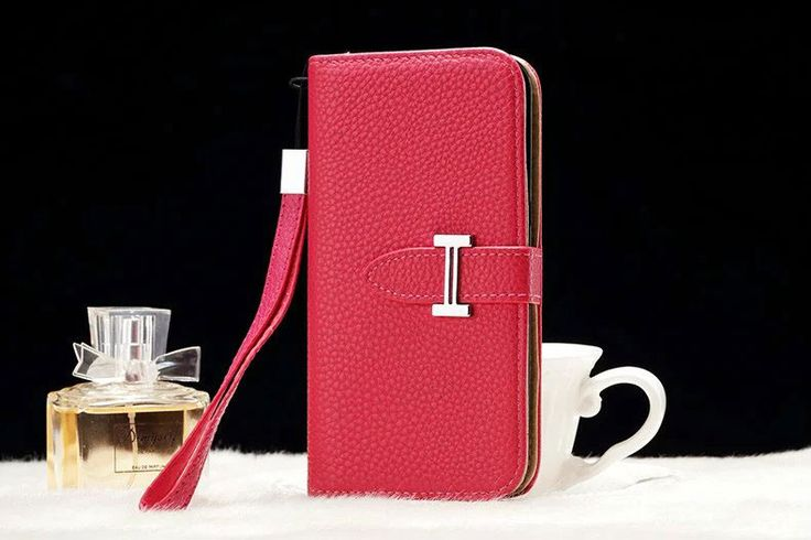 Leather hermes Galaxy Note 5 Edge Wallet Case Rose