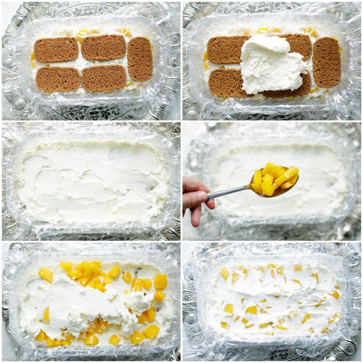 Dit is nog lekkerder dan hoe het eruit ziet. En ja, ook zonder de oven te gebruiken kun je de meest lekkere 'baksels' maken alleen heb je hier wel een koelkast voor nodig. Het recept voor deze mango…
