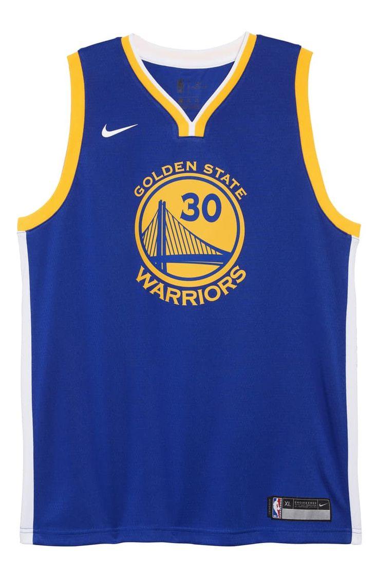 Nike Golden State Warriors Stephen Curry Basketball Jersey