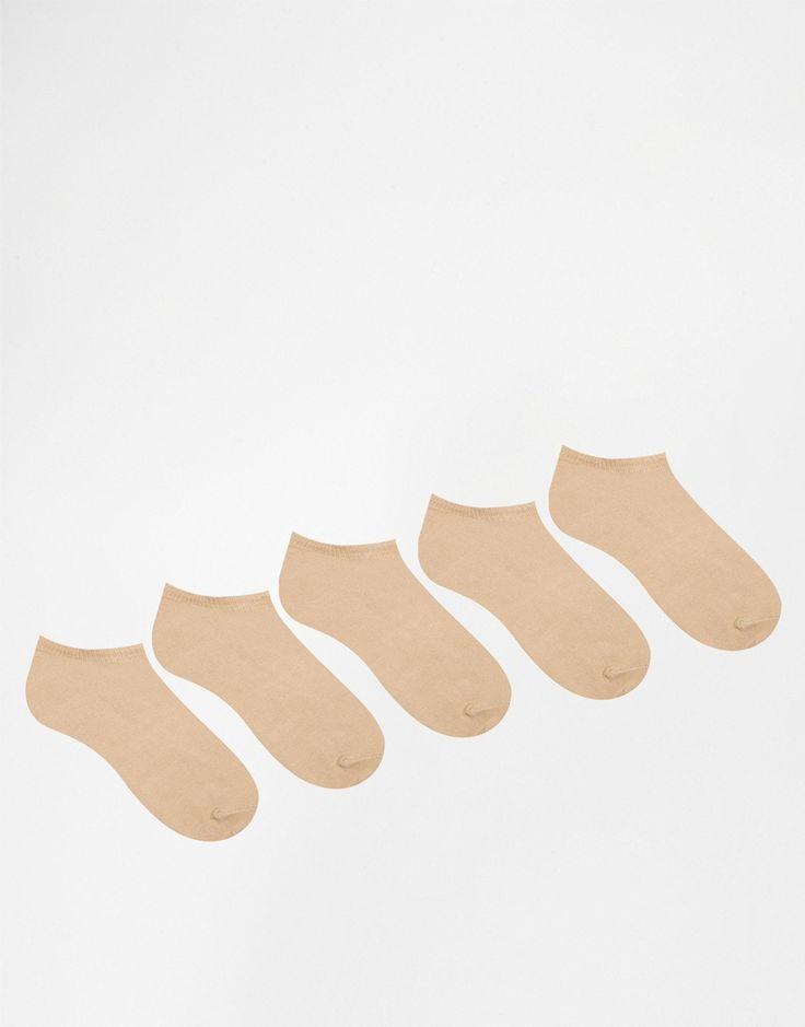 Socken von ASOS Stretch-Baumwolle sitzt unterhalb des Knöchels Maschinenwäsche 74% Baumwolle, 24% Nylon, 2% Elastan