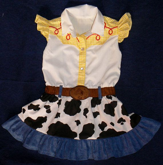 Hey, I found this really awesome Etsy listing at http://www.etsy.com/listing/163767961/jessie-inspired-dress-toy-story-cowgirl