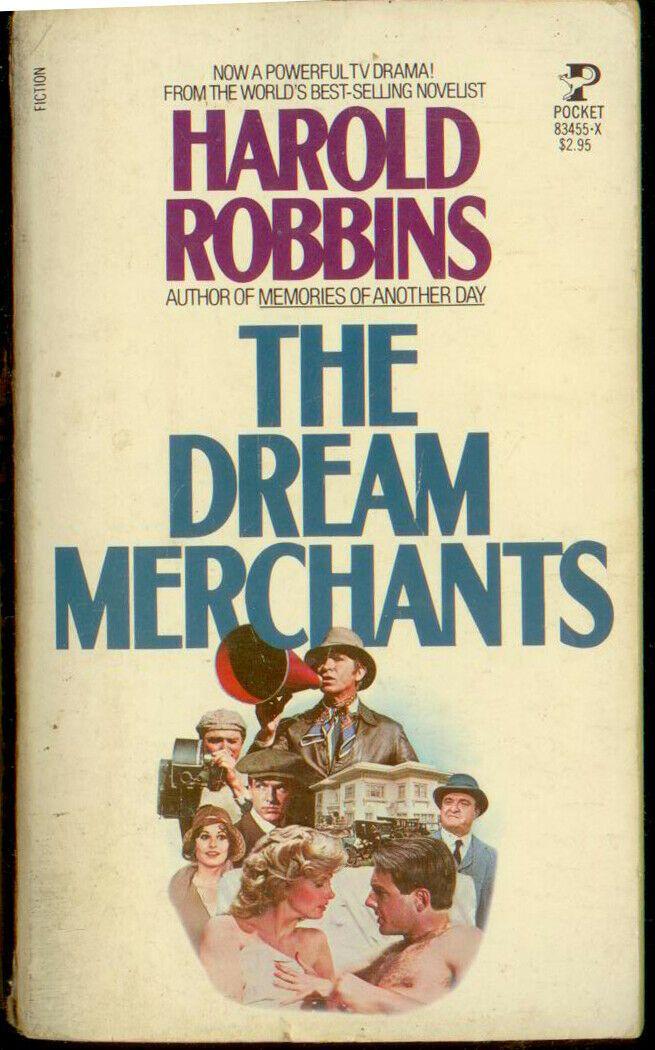 The Dream Merchants - Harold Robbins - Pocket Books B3 | The book thief,  Pocket books, Books