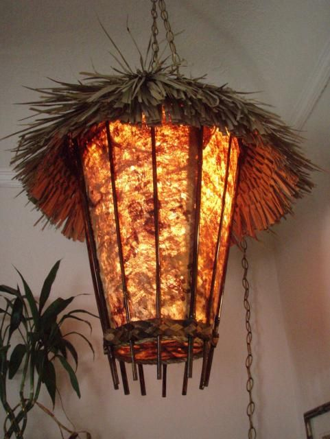 48 Best Images About Tiki Lamp Ideas On Pinterest