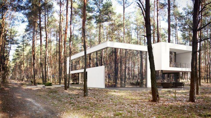Mirror House, lustrzany dom, REFORM Architekt