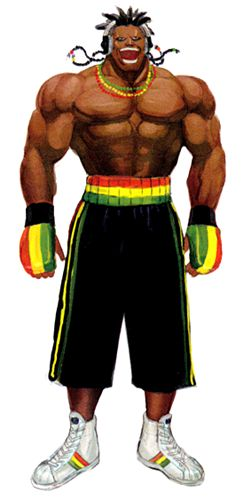 Dee Jay from Street Fighter | Jamaican Super Heroes ...