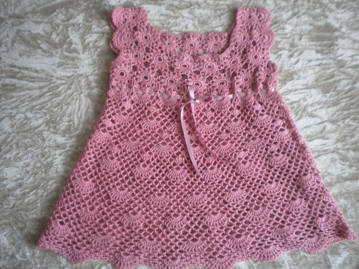 ´vestido para niña a crochet