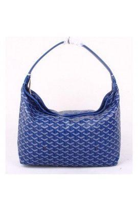 Goyard Fidji Hobo Bag Dark Blue