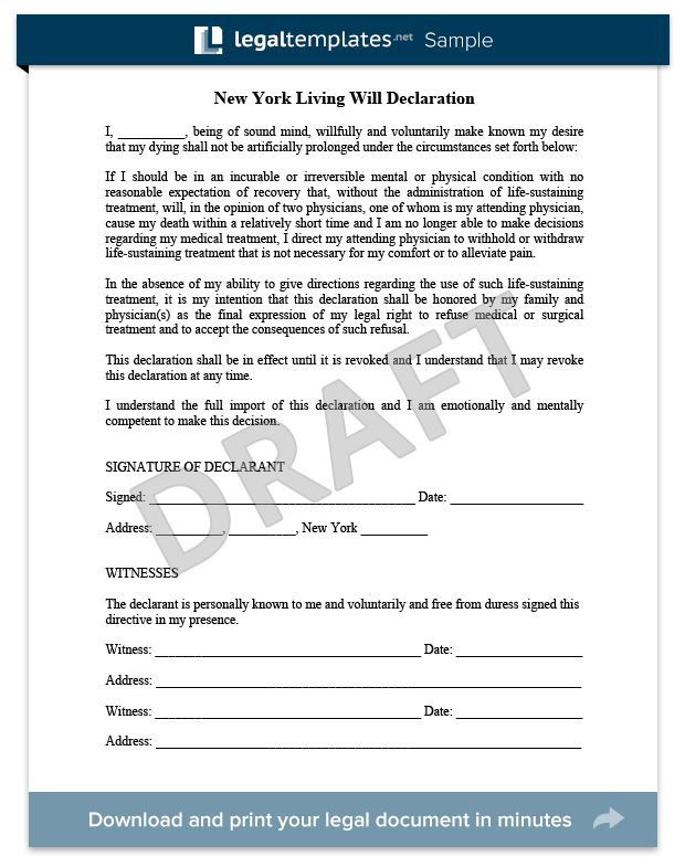 17 best images about legal document samples on pinterest for Sample of living will template