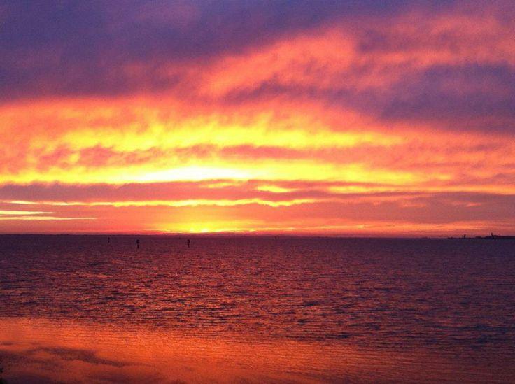 Sunrise. Geelong, Victoria