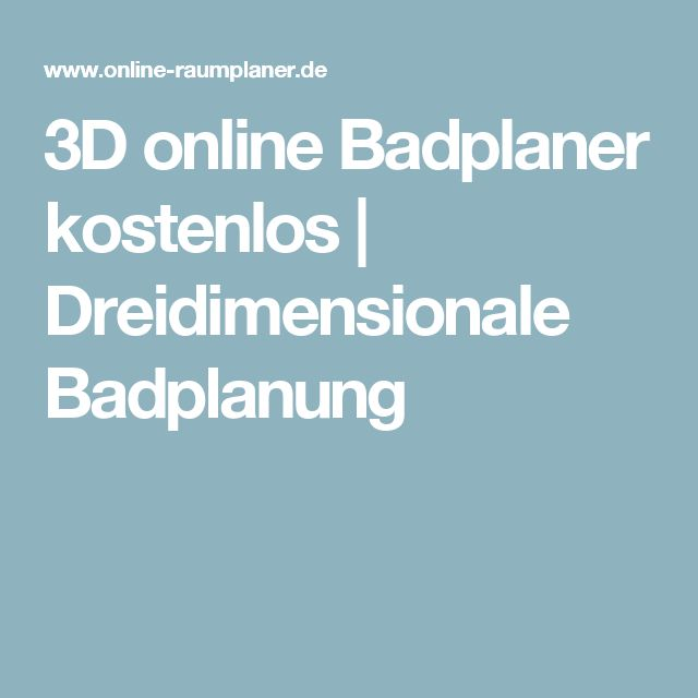 25+ Best Ideas About Badplanung On Pinterest | Badezimmer ... Villeroy Boch Badplaner Traumbad