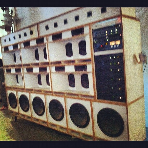 Sound system.