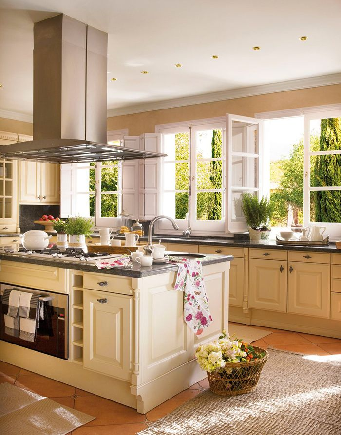Кухня дома фотографии идеальное