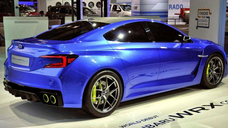 Subaru WRX concept car