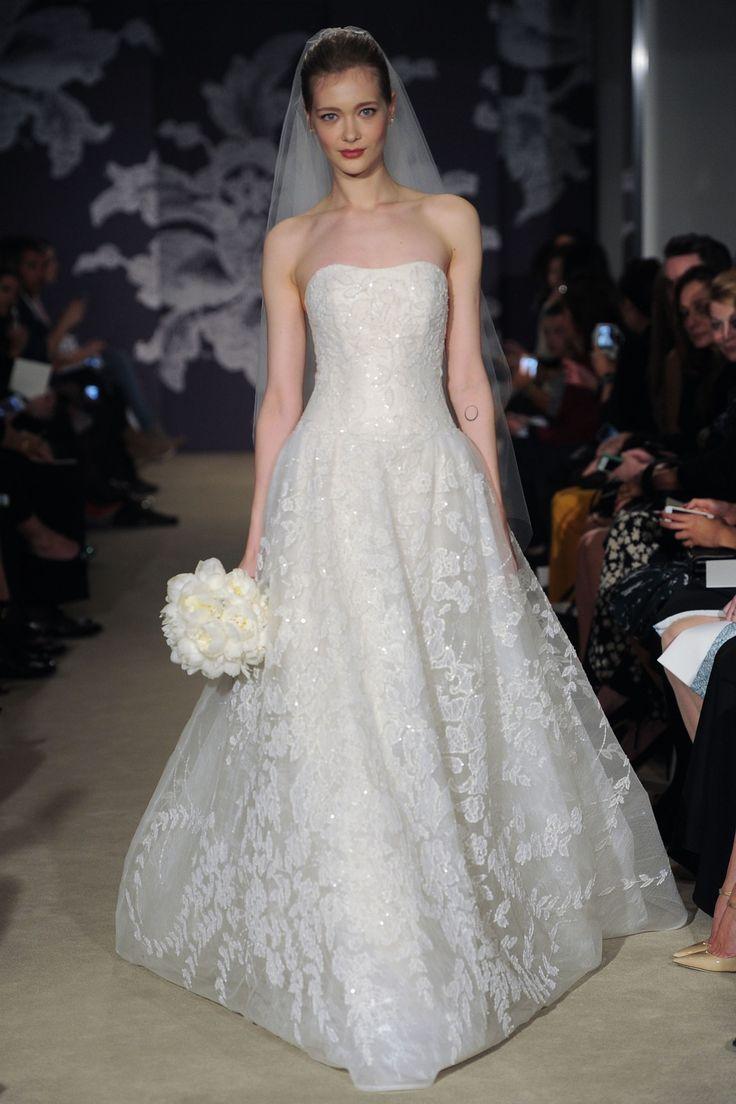 #colette #CarolinaHerrera #SS2015 #NewYork #NOVARESE #weddingdress #dress #white #コレット #キャロリーナ・ヘレラ #ウエディングドレス #Aライン #白
