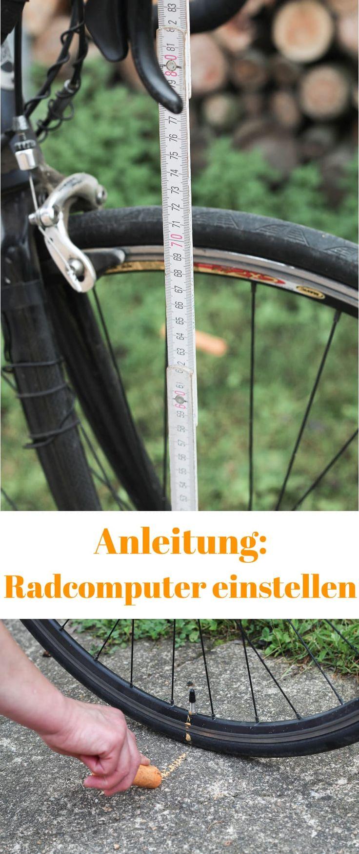 Radumfang herausfinden um den Fahrradcomputer einzustellen. [Anleitung]