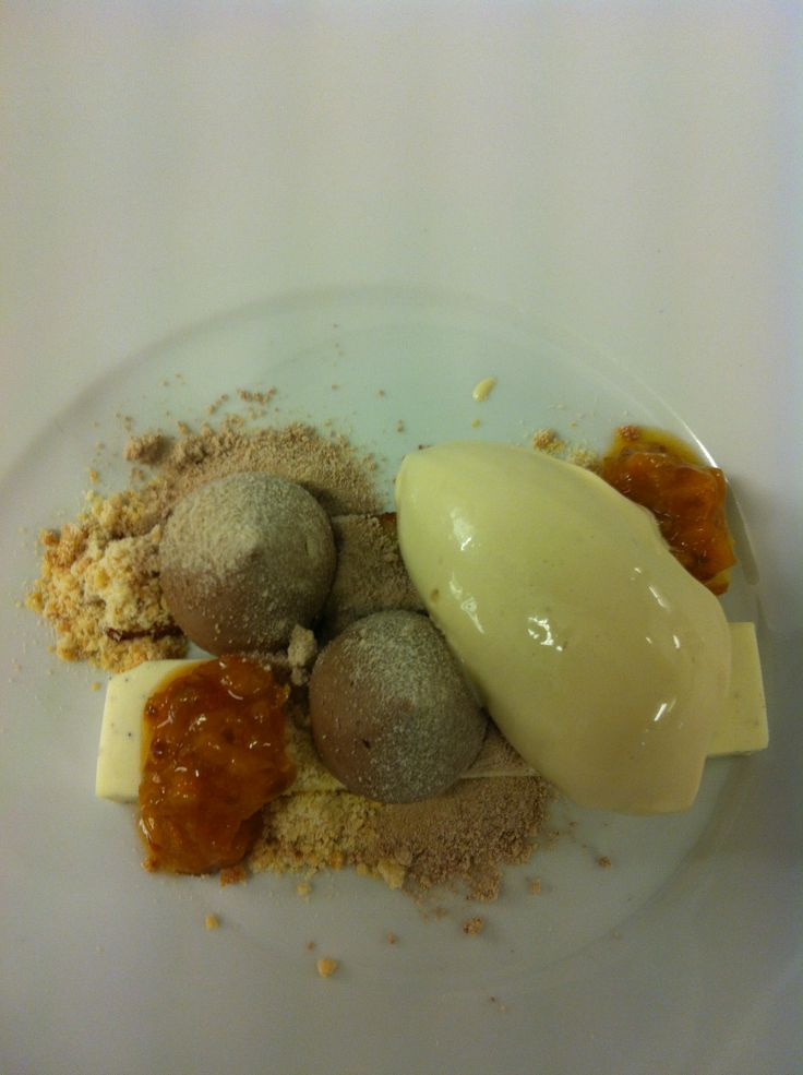 vanilla and cloudberries