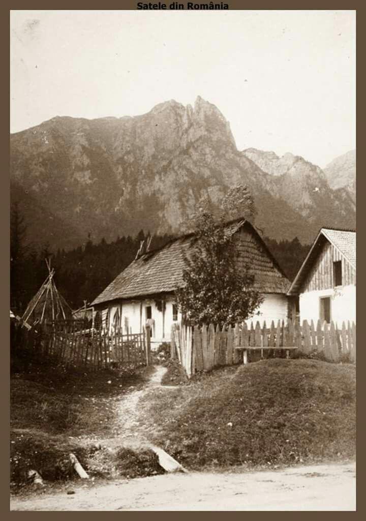 Gospodarie taraneasca in Poiana Tapului, Prahova.1918