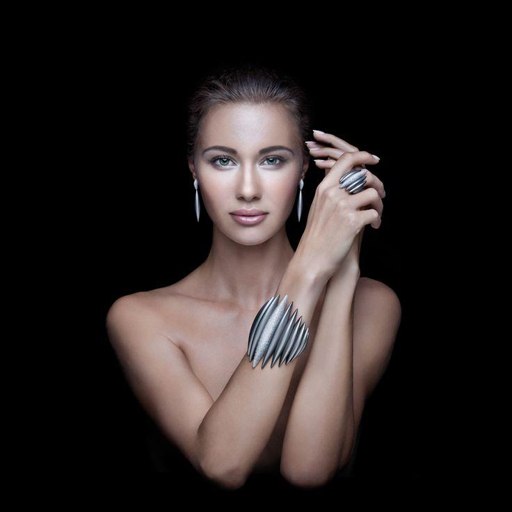 Massimiliano Bonoli - Jewels #titanium #jewels #design