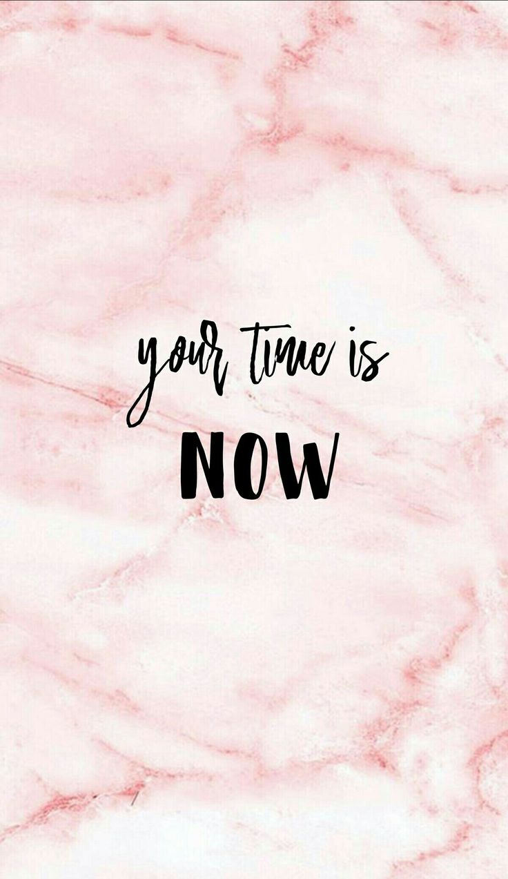 Your time is NOW!!