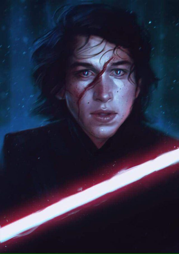 If Ben Solo was even remotely as attractive as this, I ...