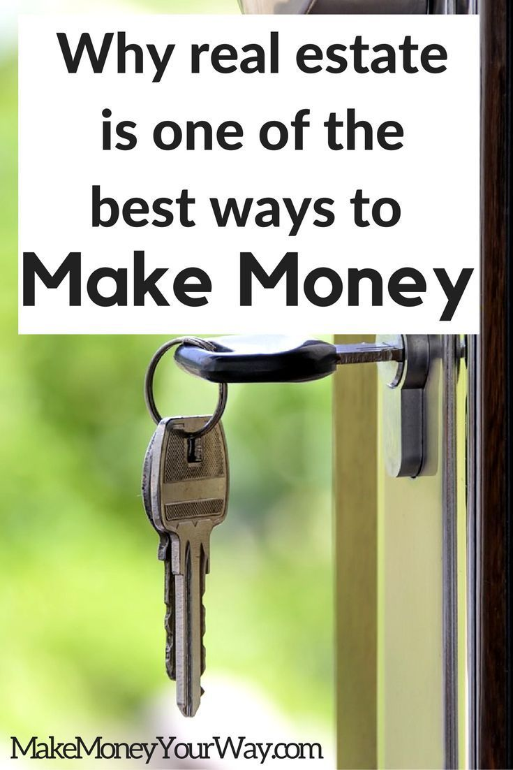 I want to show you why I think real estate is one of the best ways to make money and build wealth.